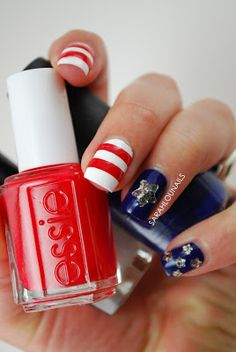 Stars  stripes ! #manis #manicures #nails #nailart