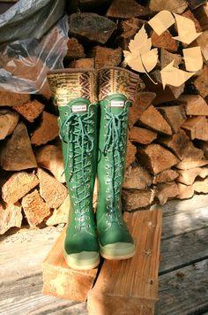 Rain boots!