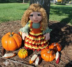 Ravelry: Autumn Woods pattern by Silverdragon Crafts & Critters