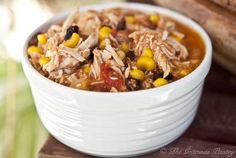 Clean Eating Slow Cooker Southwestern 2 Bean Chicken