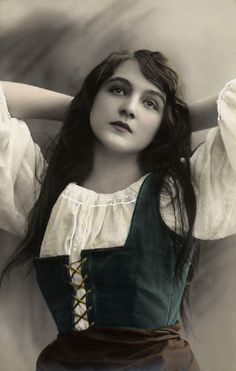 Romany woman (gypsy)