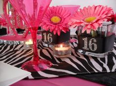 Sweet 16 (girl) - Party Planning - Party Ideas - Cute Food - Holiday Ideas -Tablescapes - Special Occasions And Events - Party Pinching