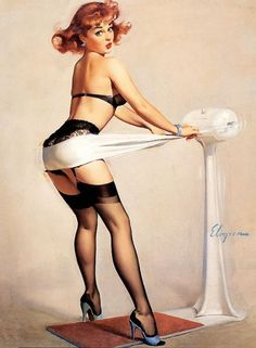 artists, vintage beauty, weight loss, poster, pin up art