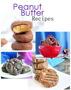Peanut butter recipes!!