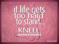 Prayer handles everything...