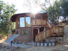 cob home, dream, natural homes, log cabins, deck, build, pizza ovens, cob houses, house plans