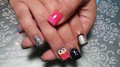 What a hoot! by nailsbykaesi - Nail Art Gallery nailartgallery.nailsmag.com by Nails Magazine www.nailsmag.com #nailart  #Acrylic #nails #boise #nampa #CALDWELL #meridian #Kuna #IDAHO #StarNail #nailtech #Acrylicnails #nailartist #nailpro