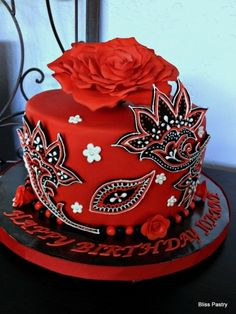 Dramatic Paisley By Bliss Pastry#Repin By:Pinterest++ for iPad#