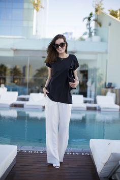 Anouska Proetta Brandon : Wide trousers