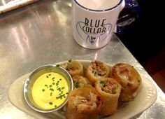 Super Bowl Snack: Cuban Sandwich Spring Rolls | Garden and Gun