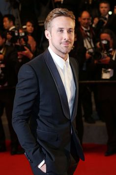 Ryan Gosling in top-to-toe Gucci.