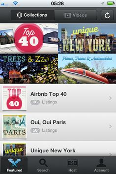 UltraUI | UI Design & Inspiration — Airbnb for iPhone