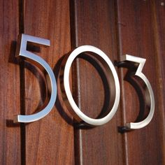 Avalon House Numbers