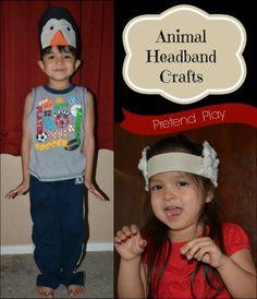 Animal Hat Crafts for Kids
