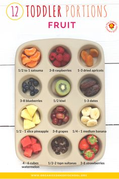 Toddler Portion Size