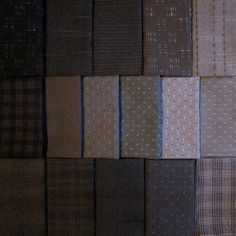 Japanese taupe fabric pack on etsy