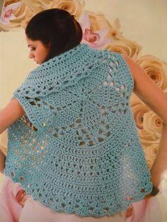 Otro chaleco circular… « Mi Rincon de Crochet