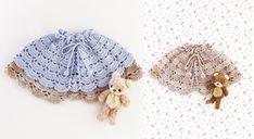 La #layette au #crochet : une #cape