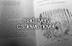 read every cs lewis novel