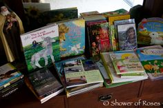 Shower of Roses: Blessed with Baskets of Books for Easter