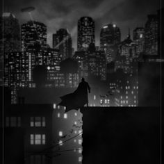 Macedonian artist Marko Manev created this this dark collection of Noir Superhero Posters.