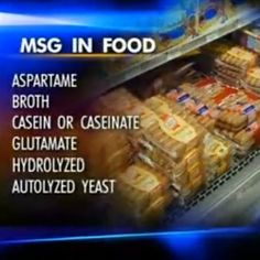 msg in food
