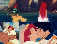 favorite happy ending - the little mermaid :)