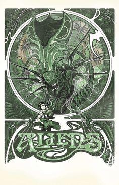 Art Nouveau Aliens