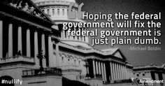 No. The feds aren't going to limit their own power. Ever.