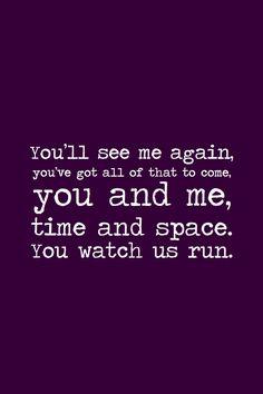 You Watch Us Run