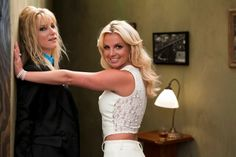 Britney Spears Glee Twitpics