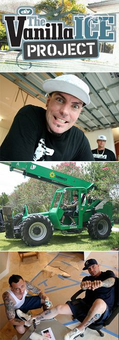 Go Behind the Scenes With The Vanilla Ice Project >> http://www.diynetwork.com/the-vanilla-ice-project/show/index.html?soc=pinterest