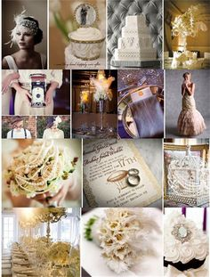 too in the past? its a nice mood board though....   Perfect Wedding : 1920's Style Theme Wedding