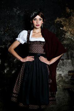 Lena Hoschek Tradition - Herbst/Winter 2012. #fall #autumn #dirndl #dress #German #Austrian #folk #traditional #costume #Oktoberfest