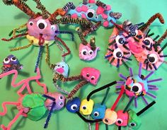 Monsters in play-doh!!