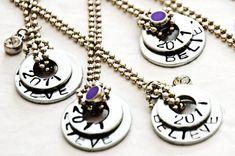 Stamped Washer Jewelry