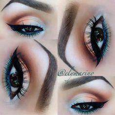 makeup geek, summer looks, eye makeup, eye colors, summer eye, mac matte eyeshadow, beauti, hair, makeup idea