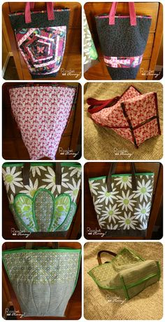 DIY Quilted Tote Bags