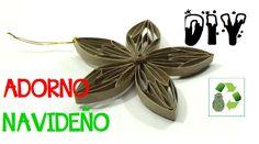 DIY ADORNO NAVIDEÑO (RECICLAJE DE TUBOS DE CARTON)