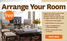 ~ arrange-a-room tool, figure out what you want to do before moving your furniture