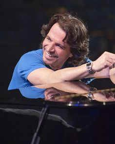 Famed composer and musician~Yanni