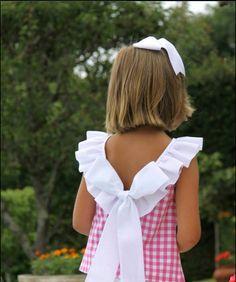 Blusón Para Niña en Cuadros Vichy   Shirt Tutorial