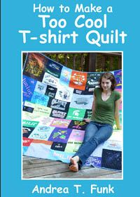 books, funk, tshirt quilt, sew project, craft idea, andrea, quilts, crafti book, sew craft