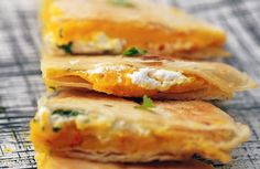 My friend introduced me to butternut squash quesadillas and I'm obsessed.. they are amazing!