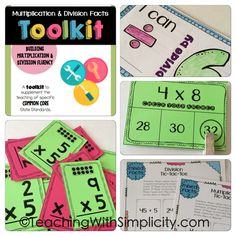 A go to resource for practicing multiplication and division facts! The Multiplication & Division Facts Toolkit provides you with everything you need to keep students practicing those facts.