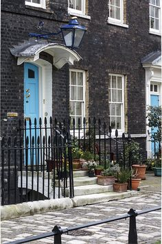 Row House, London by mym, via Flickr