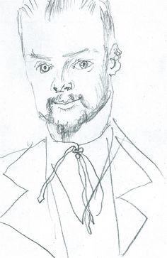 Art - Drawing - Paul Klee, 1914  August Macke