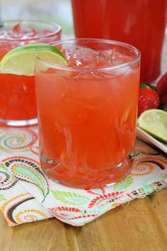 Easy Strawberry Lime