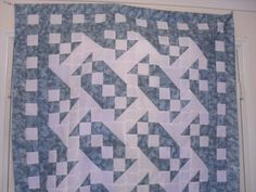 Tranquility Quilt Pattern and tutorial from Ludlow Quilt and Sew