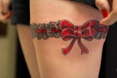 Tatuagem de Tiara de Perna